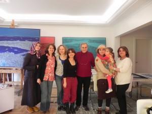 Devrim Erbil'i ziyaret ettik